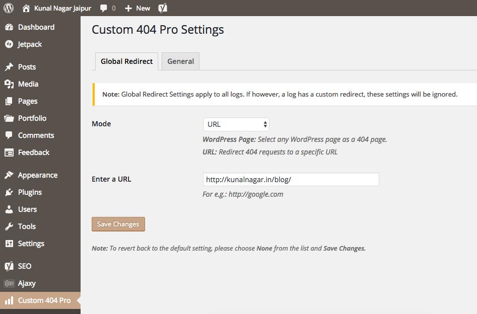 Custom 404 Pro - Kunal Nagar
